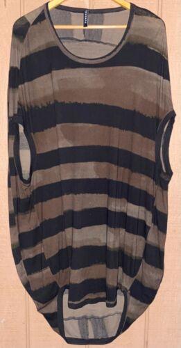 Rundholz Lagenlook Cocoon Tunic Dress Oversized