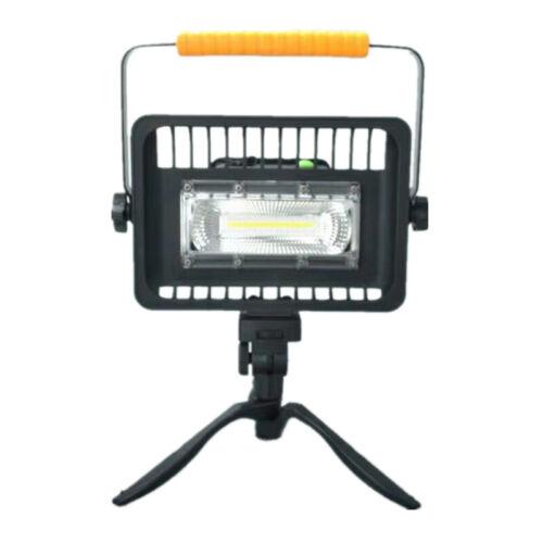Cob LED lámpara de trabajo 50w recargable soportable taller de lámpara 360 ° giratorio w830