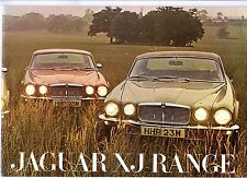 Jaguar XJ Series 2 1973-74 UK Market Sales Brochure XJ6 XJ12 XJC