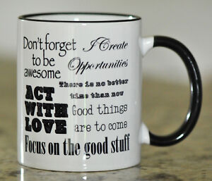 Motivational Coffee Mug Gift For Her Coffee Cup For Her Inspirational Quote Ebay