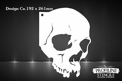 Airbrush Schablone Totenkopf Sch/ädel Skull Stencil