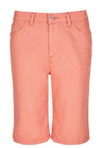 Ex M/&S Crop Shorts Pants Trousers Ladies Women Roma Rise Knee Length UK Per Una