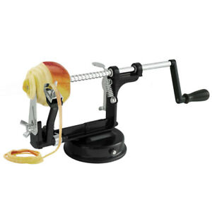 Gefu Delicio 3-In-1 Apple Corer Peeler Stainless Steel Home Kitchen Cutter Black