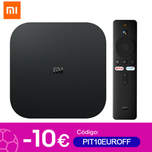 Xiaomi Mi Box S 4K HDR TV Streaming Media Player Android Google Assistant Global