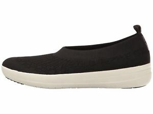 exclusive deals hot sales hot product Details about Fitflop Uberknit Slip On Ballerina Black Women's H95-001