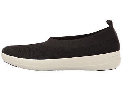 Popular Brand Fitflop Uberknit Slip On Ballerina Black Women's H95-001 Women's Shoes