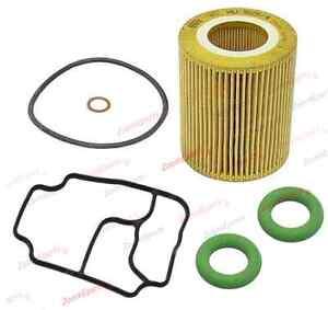 Bmw E46 E60 E39 X3 Z4 Oil Filter Kit Housing Gasket Seals