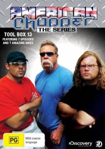 1 of 1 - American Chopper : The Series - Tool Box 13 (DVD, 2009, 3-Disc Set)