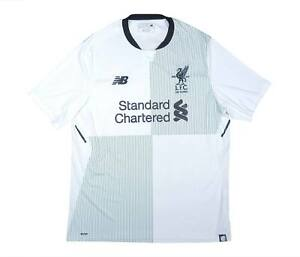 Liverpool 2017-18 ORIGINALE AWAY SHIRT (eccellente) L soccer jersey