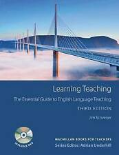 Macmillan Teachers Book LEARNING TEACHING & DVD Jim Scrivener 9780230729841