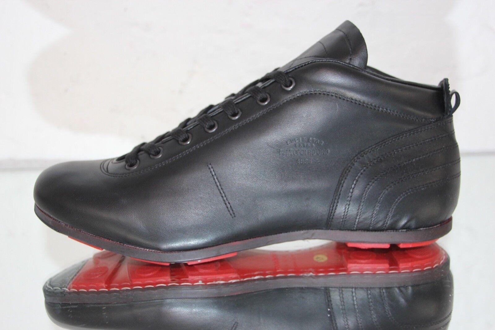 PANTOFOLA D´ORO PDO Sneaker SL19U Leder schwarz super 329 Star extra Gr.45 OVP 329 super 9ea49c