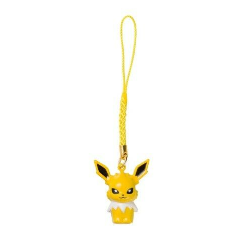 Pokemon Center Original Bell Charm Strap Jolteon From Japan
