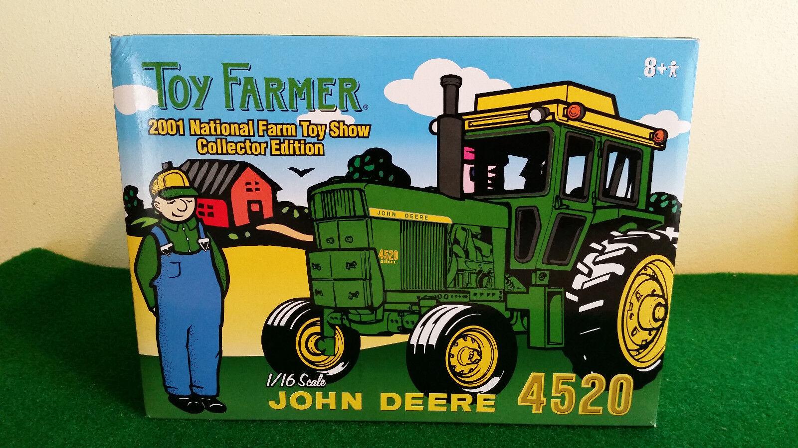 1 16 John Deere 4520 Diesel Tractor....NIB...2001 NFTS