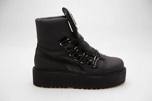 325 Puma x Fenty By Rihanna Men SB Boots Eyelets black 363040-01  351f6f9e5