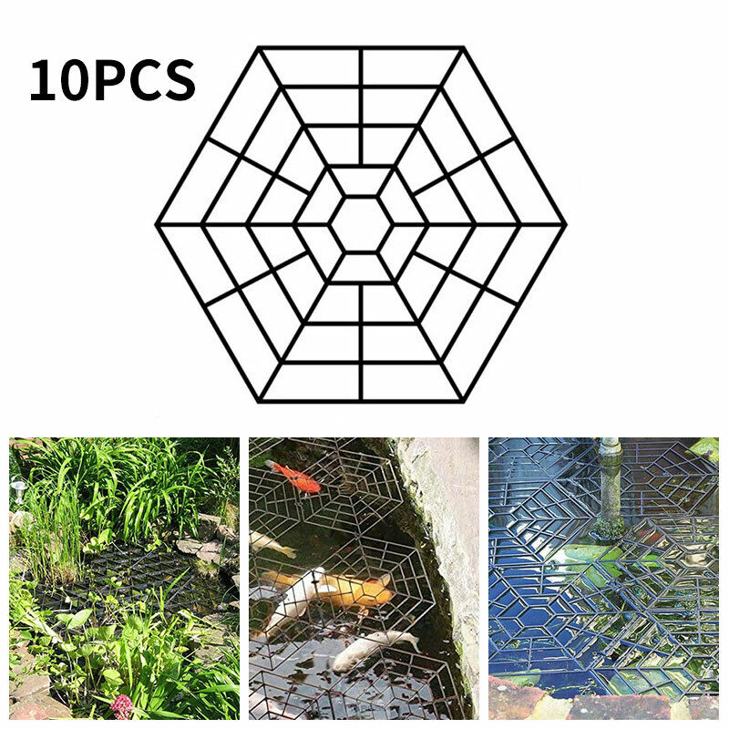 10 Piece Pond Protection Netting Set Garden Pond Protection Heron guards Pond Net
