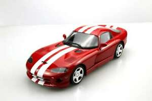 LUCKY-STEP-016B-016C-DODGE-VIPER-GTS-model-cars-red-or-grey-white-stripes-1-18