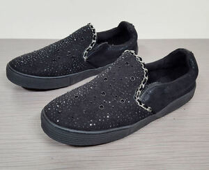 e351f3e9d7c651 Image is loading Stuart-Weitzman-Vance-Slider-Kids-Slip-On-Sneaker-