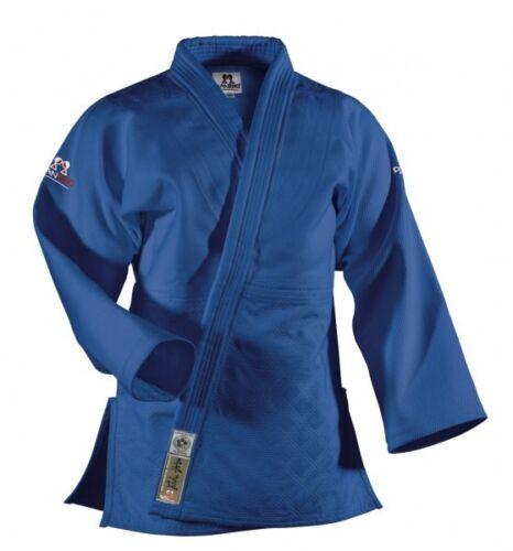 950g Abverkauf Judoanzug Preis Judo Ultimate Gold BJJ blau von DAN RHO