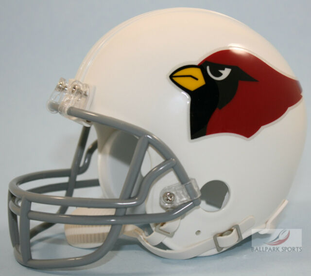 266f2b76 Arizona Cardinals 1960 Riddell Vsr4 Mini Football Helmet