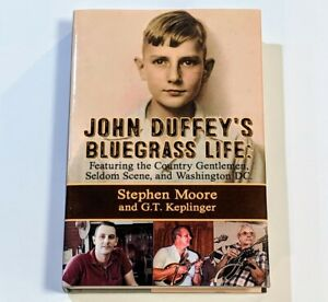 John-Duffey-039-s-Bluegrass-Life-Autographed-Signed-by-TOM-GRAY