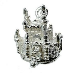 STERLING-SILVER-OPENING-CINDERELLA-039-S-CASTLE-CHARM