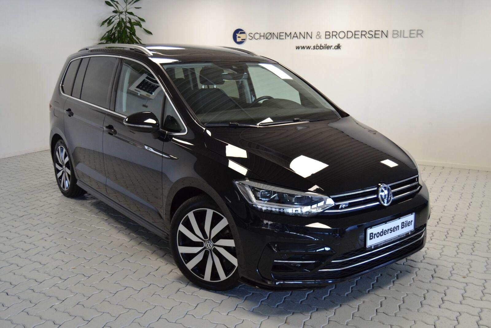 VW Touran 2,0 TDi 190 R-line DSG 7prs 5d - 399.900 kr.