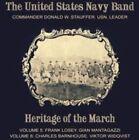 Widqvist Heritage of March U.s Navy Band Commander Donald W. Stauffer ALTIS