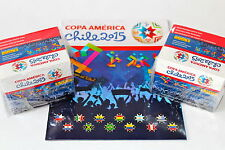 Panini COPA AMERICA CHILE 2015 - 2 x DISPLAY BOX 100 TÜTEN PACKETS + ALBUM