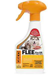 Flee Trigger Spray Plus Kills Fleas Ticks w/ Fipronil 16 Ounces for Dogs & Cats