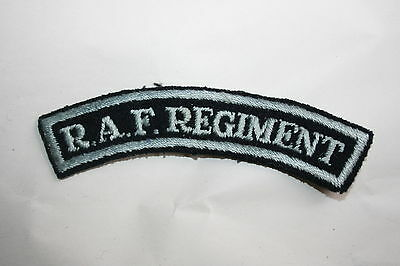 CANADA CANADIAN AIR FORCE WW2 RAF OFFICER/'S PATTERN CLOTH SHOULDER TITLE/'S