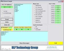 Allen Bradley PLC Runtime Free Ethernet ActiveX Driver Software for Visual Basic