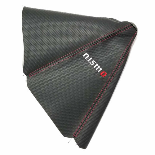 Carbon Fiber Nismo Gear Shifter MT//AT Knob Gear Gaiter Boot Cover for Nissan