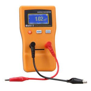 M6013 Digital Professional Capacitance Meter Resistance Circuit Tester Tool K6B2