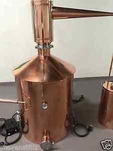 Stillz 100 Gal Copper Moonshine Micro Distillery Still Kit