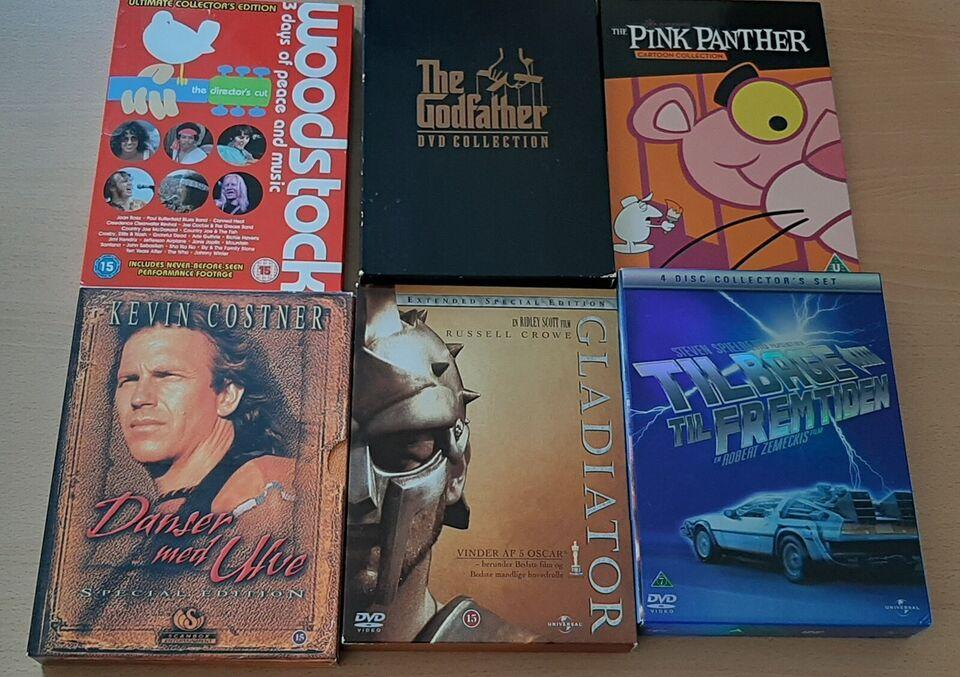 Boxsets, DVD, andet