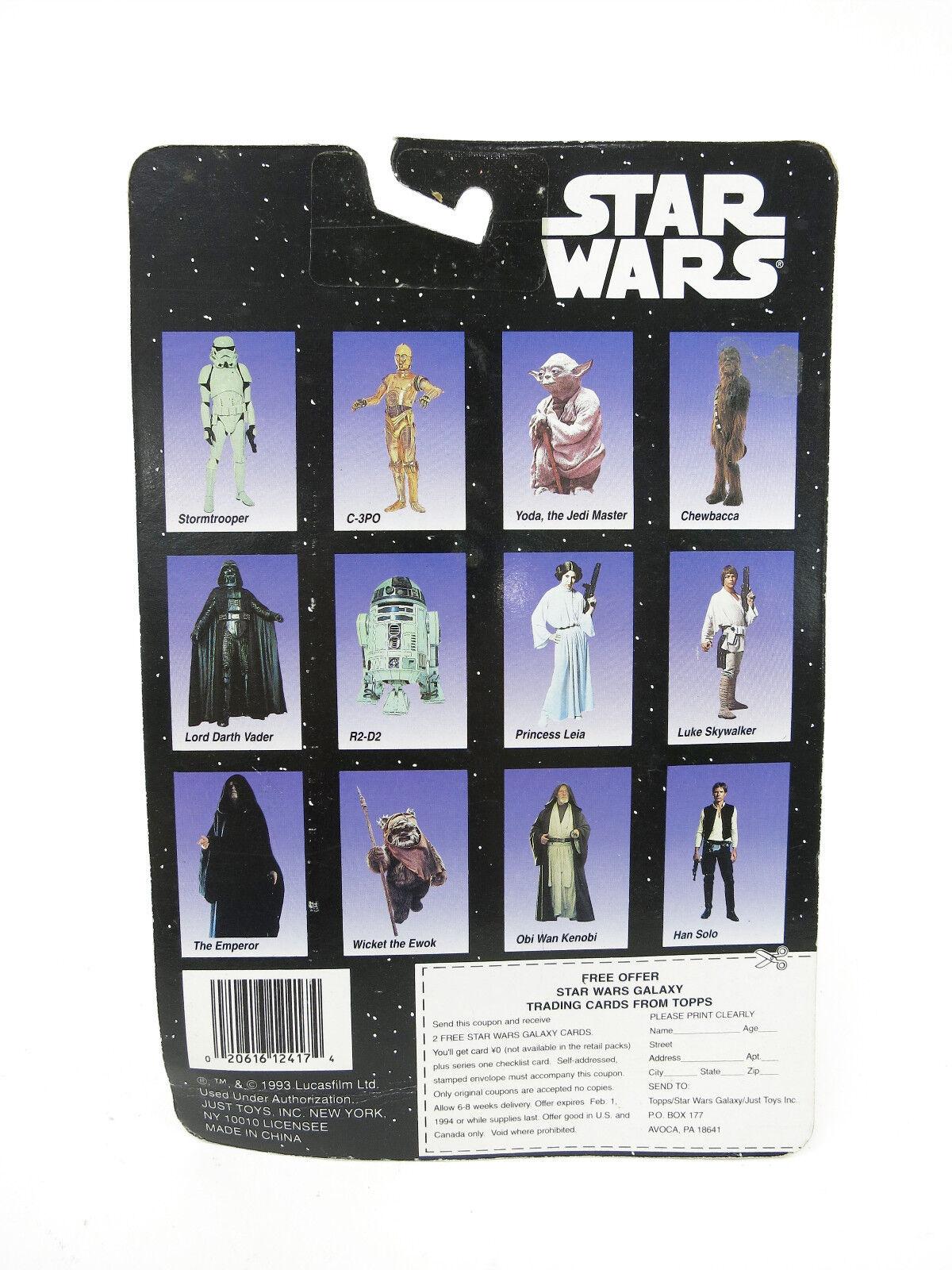 1993 VINTAGE VINTAGE VINTAGE STAR WARDS BENDEMS LUKE SKYWALKER FIGURE NOS W  TOPPS CARD LIMITED c5ea24
