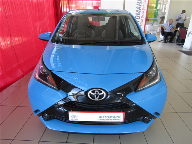 Toyota Aygo 1.0 5-door, {colour} with {kilometres}km, for sale!