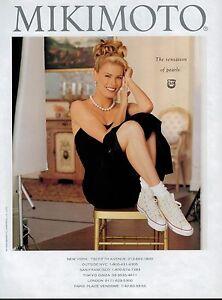 395c041e863c3b Image is loading 1995-Vendela-Kirsebom-for-MIKIMOTO-PEARL-Converse-Magazine-