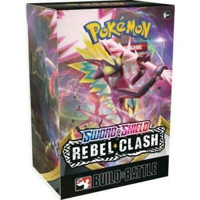 Pokemon 10x Booster Packs Factory Sealed Rebel Clash