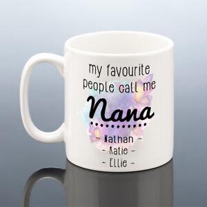 Image Is Loading PERSONALISED NANA MUG GRANDMA Nan Christmas Gift