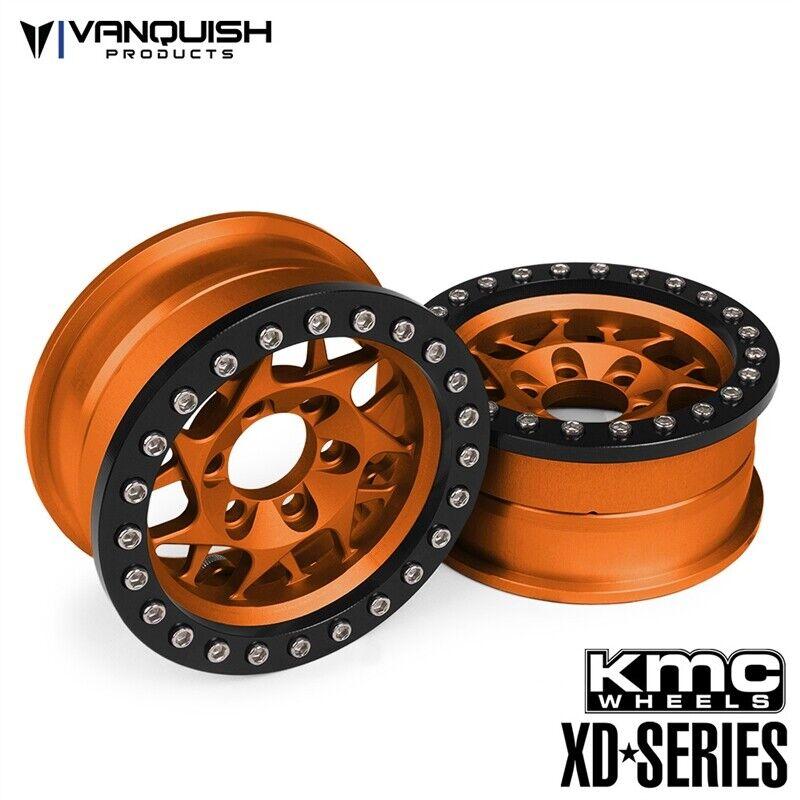Vanquish Products KMC 1.9 XD127 Bully arancia Anodized (2) VPS07715   garantito