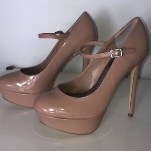 Bakers - blush colored high heel with