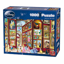 Disney Puzzle - Museum - 1000 pieces - King - Mickey Donald Tinkerbell Ariel