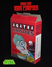 House of 1000 Corpses - Agatha Crispies Cereal Box Horror Prop - Rob Zombie