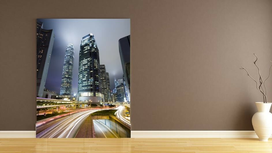 3D Highway City 43 Wall Paper Wall Print Decal Deco Indoor Wall Mural CA