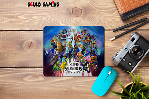 Super Smash Bros Ultimate Mouse Pad Non-Slip Computer Gaming Laptop NES PC New