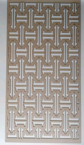 Radiator Cabinet Decorative Screening Perforated 3mm /& 6mm thick MDF laser cutO2