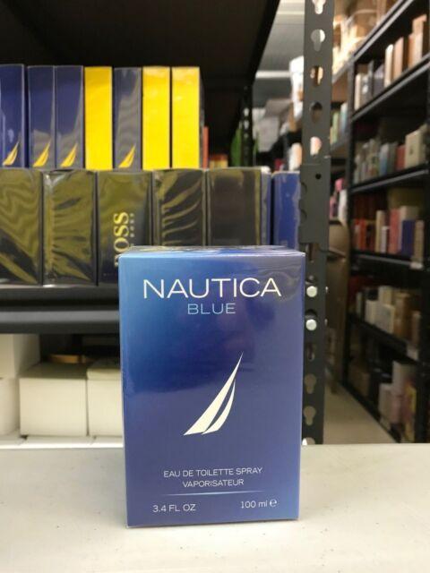 Nautica Blue Perfume Cologne 3.4 oz 100 ml EDT Spray For Men New in Sealed Box