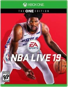 NBA-LIVE-19-The-ONE-Edition-Microsoft-Xbox-One-Brand-New-Sealed