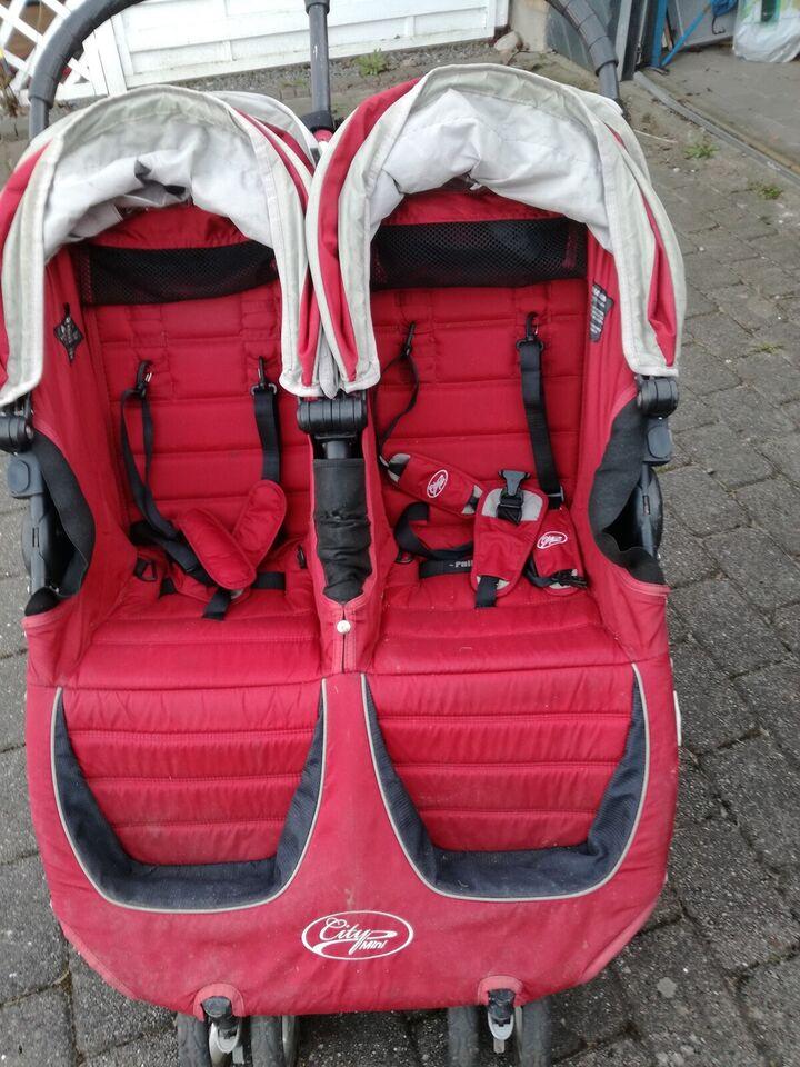 Kombivogn, tvillinge-, Baby Jogger